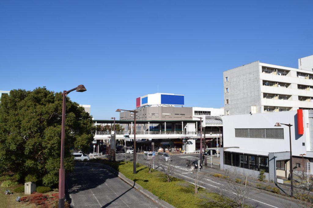 北習志野駅東口の街並み