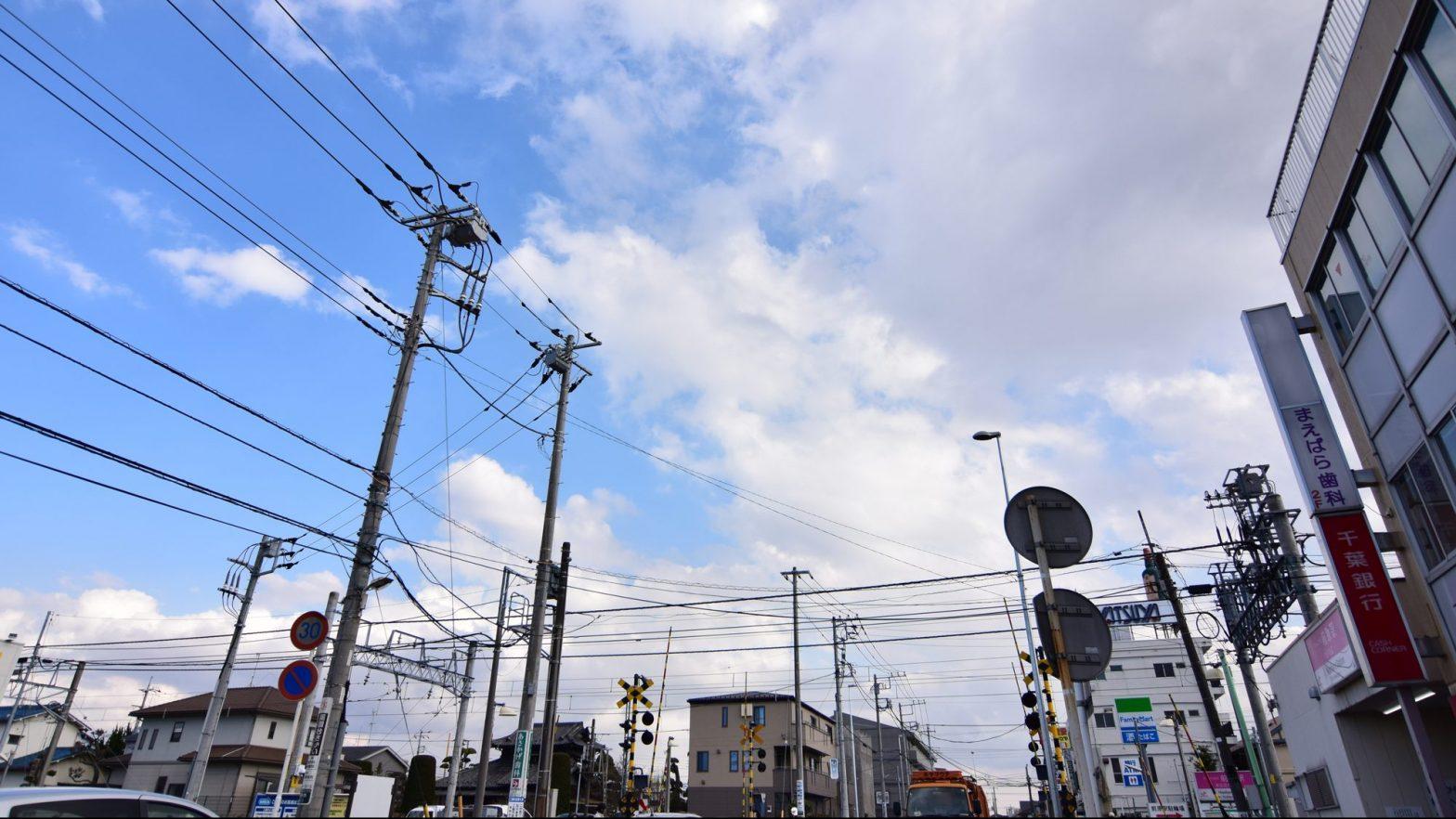前原駅前の風景