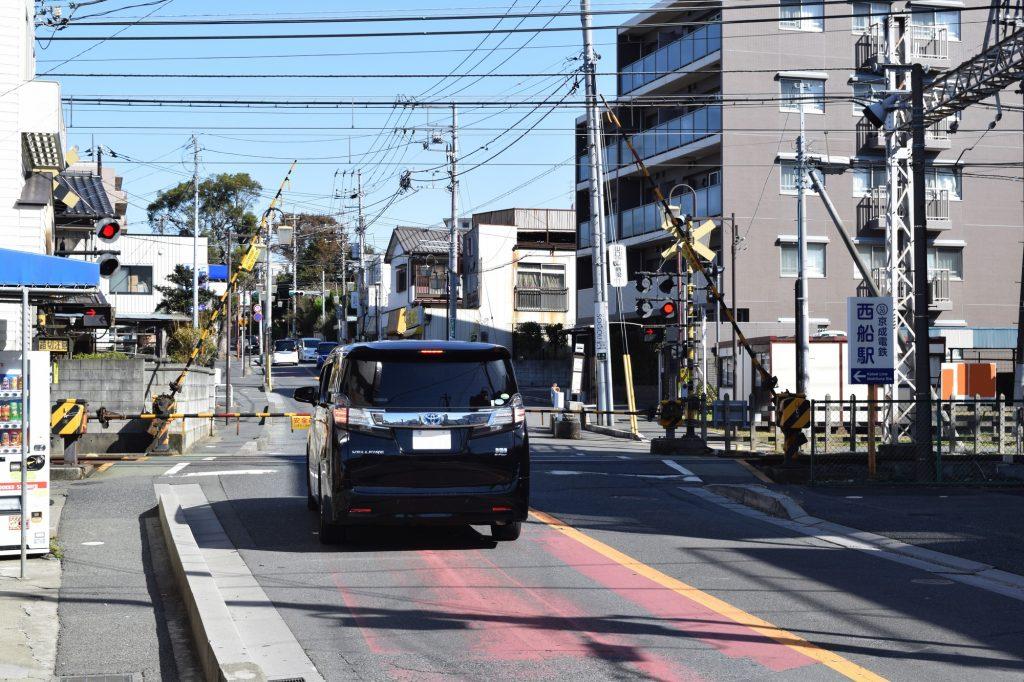 京成西船駅周辺の街並み