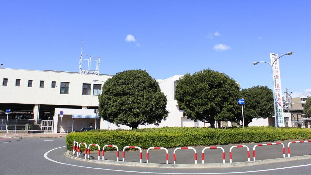 東船橋駅ロータリー