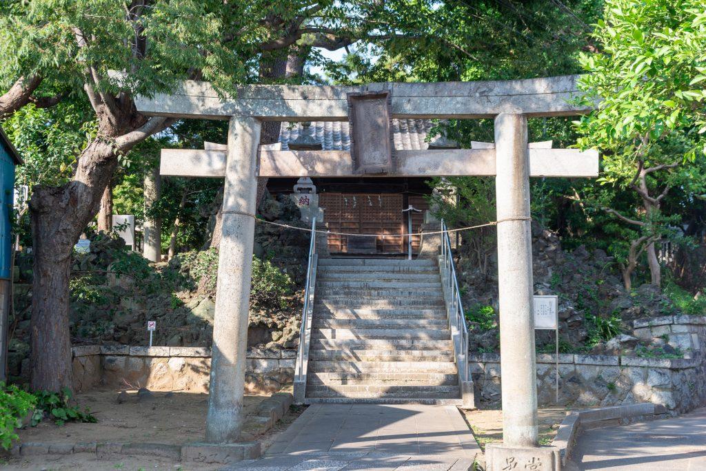 京成西船駅周辺 葛飾神社